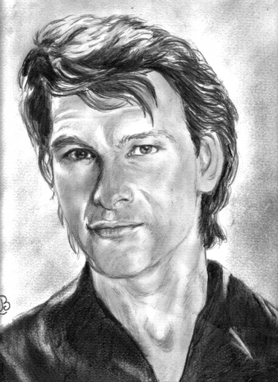 Patrick Swayze by barbouille